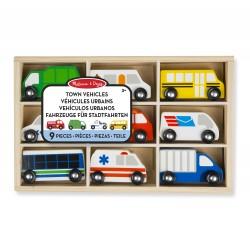 Drewniane pojazdy miejskie, Melissa&Doug