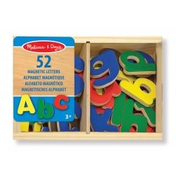 Magnetyczne drewniane literki