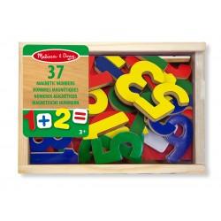 Magnetyczne drewniane liczby