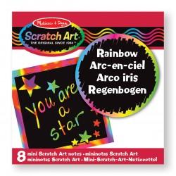 Artystyczne karteczki do zdrapywania, Scratch Melissa & Doug